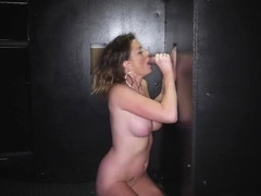 Bitch will participate in her first gloryhole