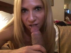 Brooke Tyler has a lot of fun today