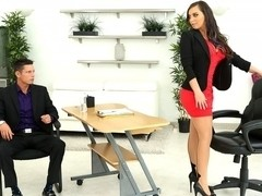 Tyler Steel & Sydney Leathers in Loving leather - BigTitsBoss