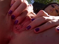Insatiable Melissa Jacobs starving for hot orgasm!