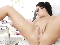 Kirsten Plant in gyno hospital bizarre cunt checkup