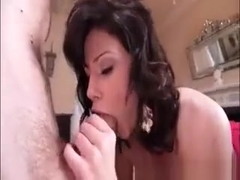 Nasty Brunette Babe Brooklyn Lee Blows