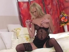 Raylene Richards - Black Lingerie