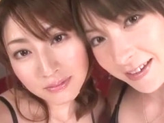 Hottest Japanese slut Yaya Kouzuki, Karen Kisaragi in Best Threesomes, Cunnilingus JAV video