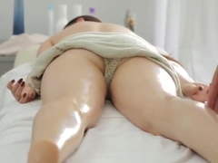 Massage then hot sex