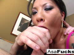 Asa Akira in Superstar Asa Is Known For Her Sloppy Bj's - AsaAkira