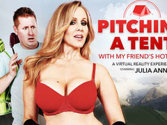 Pitching A Tent with my Friends Hot Mom starring Julia Ann - NaughtyAmericaVR