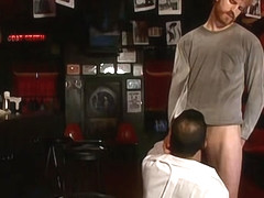 Getting Some Cock After Closing - Josh Gingerson & Mike Dreyden