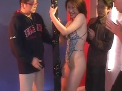 Japanese Amateur Kokoro As Night Club Stripper babe Likes Taking It Off