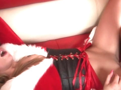 Malia Kelly - Santas Helper Ready To Give Her Tight Pussy As Gift