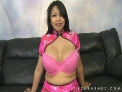 Mika Tan orient express to face fucking