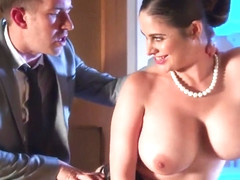 A Girl From Shows A Businessman Big Milkings And Starts Gaggi - Cathy Heaven And Danny D
