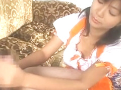 Crazy Japanese girl Rin Suzuka in Exotic Blowjob, Maid JAV clip