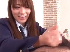 Incredible Japanese girl Saki Kozai in Exotic POV, Handjob JAV video