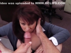 Milf tittyfucking for some extra cash