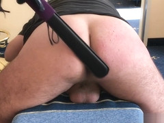 Slave get humiliated with Whip and Paddle - *** Freakees - Spanking ***