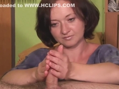 sexy handjob with ruined orgasm