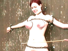 Good-looking Iona Grace featuring hot BDSM video