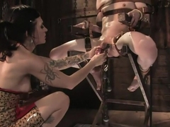Demanding Mistress Kross puts Kade in The Chair
