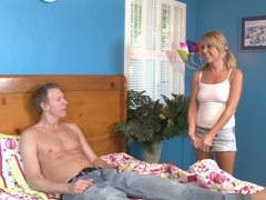 Best pornstar Aria Austin in Fabulous Blonde, Anal porn movie
