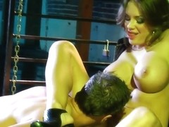 Busty Nika Noir gets nailed by tattooed Rocco Reed