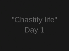 Tease And Denial 'Chastity Life' Series. Day 1