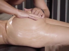 Hottie Alena Croft Gets Oiled Up And Massaged