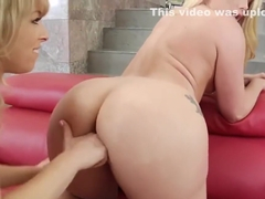 AJ and Zoey Squirt Tons while Lesbian Scissoring!