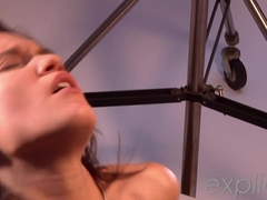 Teenage angel Lea Fast fucked crazy in the ass by Mike angelo