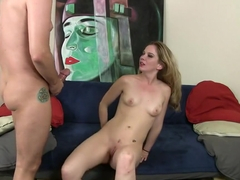 Fabulous pornstar Tera Dice in horny swallow, blonde adult scene