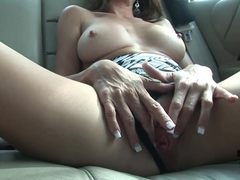 Hot Brunette Gets Naked In Public In Tampa Florida And Masturbates In My Car - SpringbreakLife
