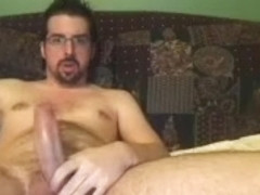 Dishy fagot is masturbating at home and filming himself on camera