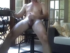 Alluring fag is having a good time at home and filming himself on web camera