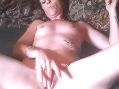 Hot amateur couple orgasms after a game of four play.