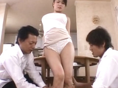 Miki Sato real asian mum has orgy part5