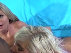 Busty Brianna Brooks and Heidi Hollywood take turns fucking and eating cunt