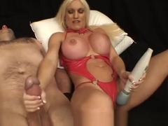 Huge clit muscle girl stroking slave