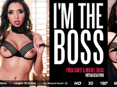Frida Sante & Miguel Zayas in I'm the boss - VirtualRealPorn