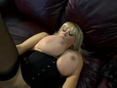 Kat Kleevage Puts Big Titties To Work And Gets Fucked
