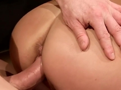 Two girls tied and fucked hard