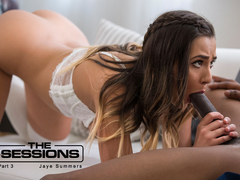 Jaye Summers & Isiah Maxwell in The Sessions: Part 3 - BlackIsBetter
