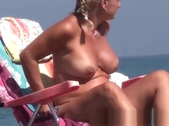 Nudist Blonde Milfs Tanning Naked Are The Best Voyeur Spy