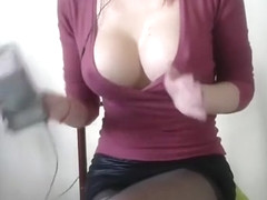 Busty Latina gets rammed in the classroom