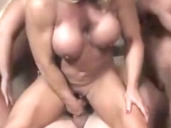 Alura Jenson, Ashlee Chambers, and Wildkat Fuck Some Little Dude