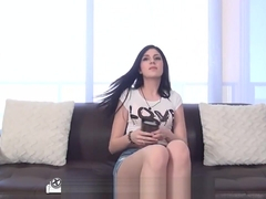 Big cock chases dripping wet Miranda Miller - CastongCouch-X