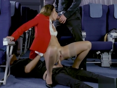 Clea Gaultier, stewardess in seventh haven