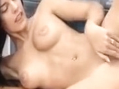 Cute Teen Candice Luca Fingering Herself
