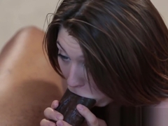 Jojo Kiss takes a big black cock delivery