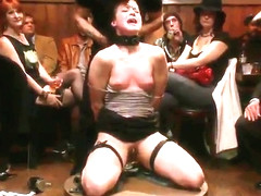 Princess Donna Dolore, Mr. Pete and Cheyenne Jewel in sweet bdsm group sex video
