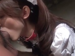 Incredible Japanese chick Kanako Iioka in Exotic JAV uncensored Blowjob movie